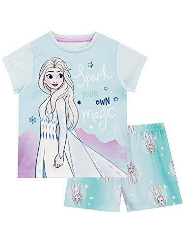 Disney Pigiama per Ragazze Frozen Multicolore 6-7 Anni