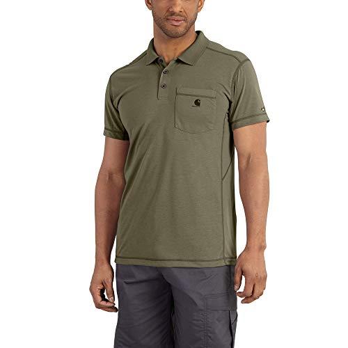 Carhartt Men's 102134 Force Extremes&Trade; Pocket Polo Shirt