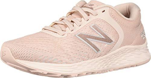 New Balance Women's Fresh Foam Arishi V2 Running Shoe, Oyster Pink/Pink Mist/Pink Mist Midsole, 5 W US