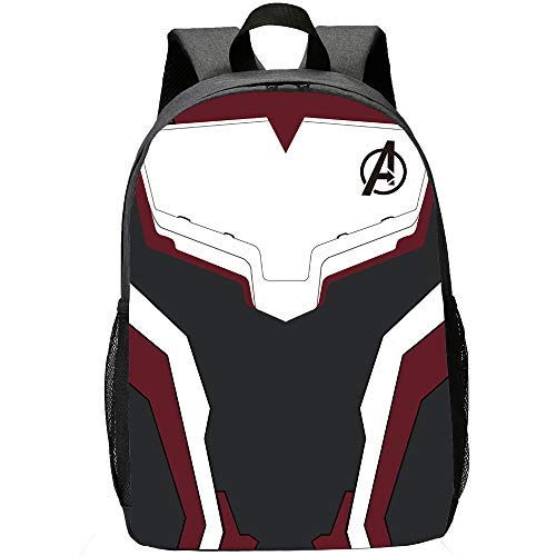 Avengers Backpack for School Classic Water Resistant Casual Daypack Student Polyester Bookbag Large Capacity Lightweight Backpack