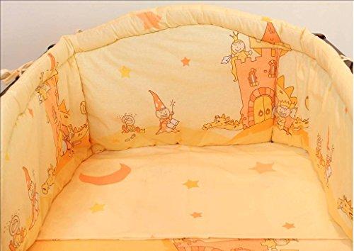 Parure de lit 2 pièces pour bébé comprenant taie d'oreiller et housse de couette, plus de 35 motifs en tailles pour petits lits et grands lits de bébé.