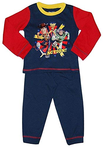 Disney Toy Story 4 Woody Buzz Lightyear Forky Jungen Schlafanzug Pyjama Satz - Multi, 86-92