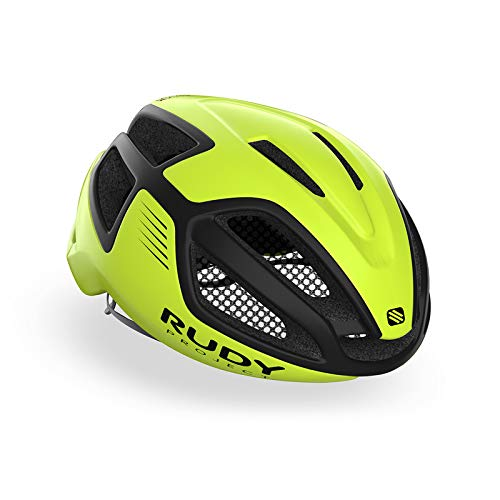 Rudy Project Spectrum - Casco de Bicicleta - Amarillo/Negro Contorno de la...