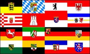 UB Fahne/Flagge Alle 16 Bundesländer 90 cm x 150 cm Neuware!!!