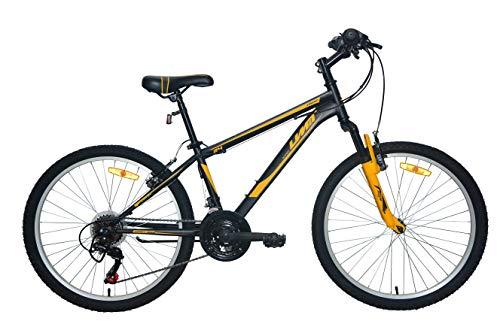 Umit Bicicleta 24' XR-240 Negro. con Cambio Shimano 18V Y Suspension Delantera