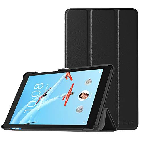 TiMOVO Lenovo Tab E8 Funda, Funda Ultra Fina y Liviana para la Tableta Lenovo Tab E8 8' 2019 (No Apto para Lenovo Tab E8 HD) - Negro