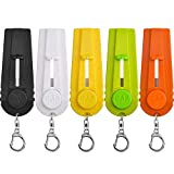 TOODOO 5 Pieces Cap Zappa Beer Bottle Opener Cap Shooters Launchers with Key Ring, 5 Color...