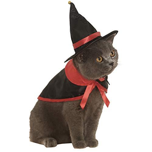 Impoosy Halloween Pet Dog Cat Costume Demon Cloak Bat Classic Monsters...