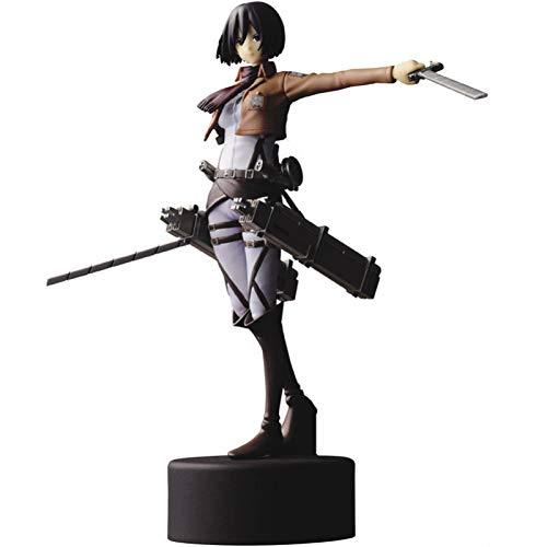 15Cm Anime Attack On Titan Mikasa Ackerman Figura De Acción PVC Figura Coleccionable Modelo De Juguete Muñeca Regalo para Niños