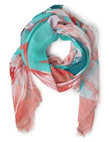 Street One Damen Schal 570634, Mehrfarbig (Sunny Aqua 31345), One Size (Herstellergröße: A)