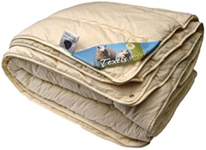 Isleep Deckbett Wolle 4-Jahreszeiten Texel Komfort-Doppel-200 x x x 220cm B01CBOR5QE 41a3da