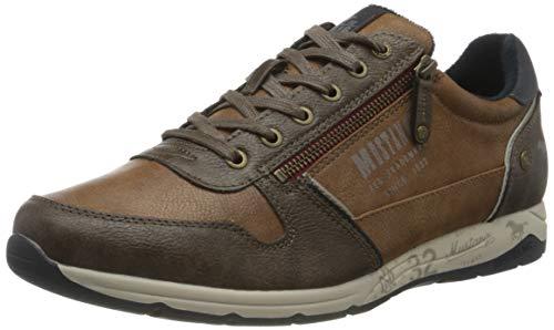 MUSTANG Herren 4106-306-301 Sneaker, Braun (Kastanie 301), 45 EU