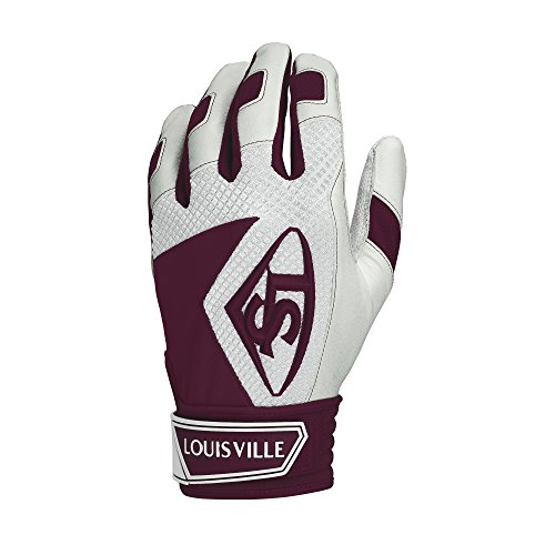 Louisville Slugger Series 7 Batting Glove, Maroon, x Large