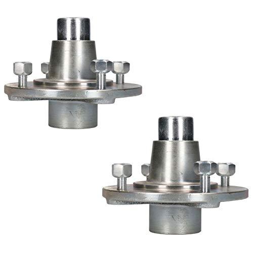 Par de bujes de rueda de remolque de 115 mm PCD con rodamientos sellados para Erde Daxara