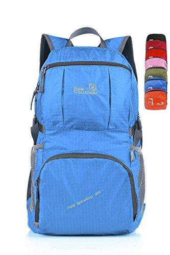 Outlander 2197 lightweight Travel Gear Packable Daypack-Light Blue