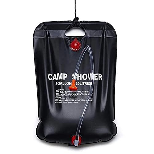 FQYXLX 2 0L / 40L Bolsa de ducha Portátil plegable solar calentado a prueba de agua a prueba de camping al aire libre viajes de senderismo Mano bolsas de agua para bañarse de ducha Adecuado para indiv