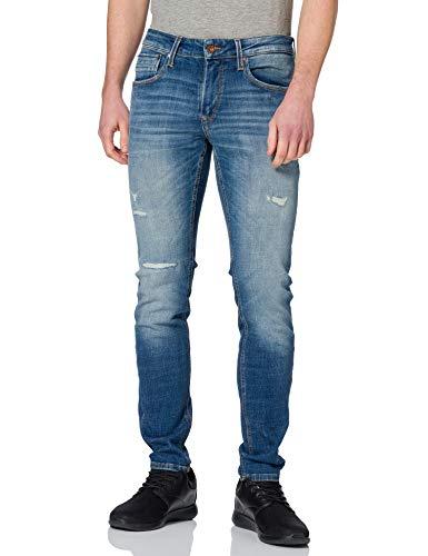 JACK & JONES Herren Jjiliam Jjseal Jos 799 50sps Sts Jeans, Blue Denim, 36W 34L EU