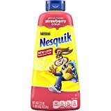 Nesquik Strawberry Syrup, 22 oz