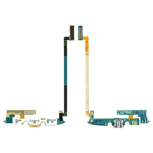 For Samsung Galaxy S4 Active i537 Charger Port Front Keyboard/ Mic Flex Cable Ribbon - All Repair Parts USA Seller