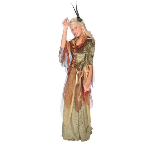 Disfraz de ninfa del bosque - traje de hada elegante y brillante ...
