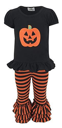 Unique Baby Baby-Girls 2 Piece Halloween Pumpkin Outfit (6 Months)