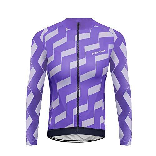 Sports Wear Hombres Chaqueta de Ciclismo Abrigo Respirable C