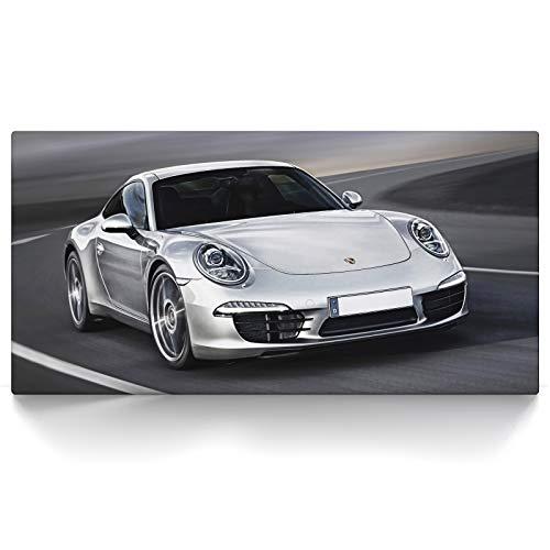 CanvasArts 911 Carrera - Leinwand Bild auf Keilrahmen (80 x 40 cm, Leinwand auf Keilrahmen)