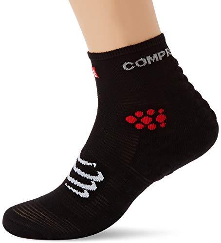 COMPRESSPORT Pro Racing Socks v3.0 Run High Calcetines, Unisex-Adult, Negro, 35-38 (T1)