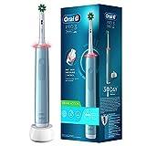 Oral-B Pro 3 3000 CrossAction - Cepillo de dientes eléctrico con 3 modos de cepillado y control visual de la presión de 360° para el cuidado dental