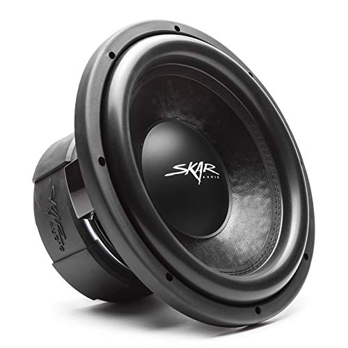 Skar Audio DDX-12 D4 12' 1500 Watt Max Power Dual 4 Ohm Car Subwoofer