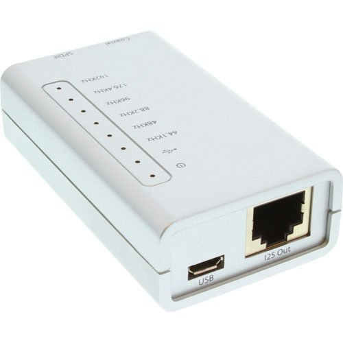 InLine Adaptador USB HD Hi-Fi (24 bits, 192 KHz) a Digital Coax/Toslink/I2S...
