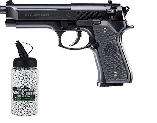 g8ds Set: Beretta M9 World Defender unter 0,5 Joule 6mm Softair Munition Bio BBS Premium Selection 2000 Stück 0,20 g 6mm