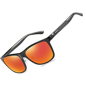 Bircen Men s Women s Driving Sunglasses Polarized UV400 Protection RectangularSunglasses for Men Women Anti Glare Glasses