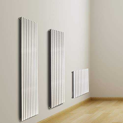 VILSTEIN VS-BH03-600x600W Radiador para baño, Blanco, 60 x 60 cm