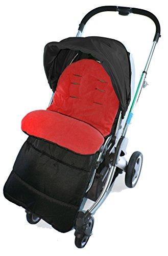 Saco/Cosy Toes Compatible con Babystyle carrito, color rojo