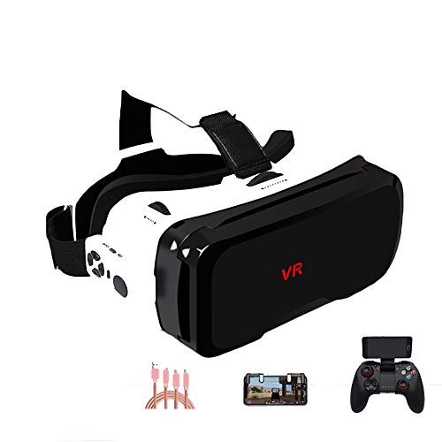 Buy YANJINGYJ VR Headsets,3D VR Glasses Head-Mounted Virtual Reality Glasses, Support 4.7-6.0 inch i...