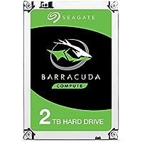 Seagate Technology ST2000DM008 Barracuda - Unidad de Disco Duro Interna Tamaño Único, Plata