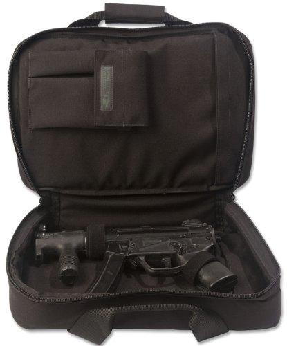 Elite Survival Systems ELSCOC16-B Covert Operations Discreet Mp-5K Sp89 Pistol Case, Black, 16'