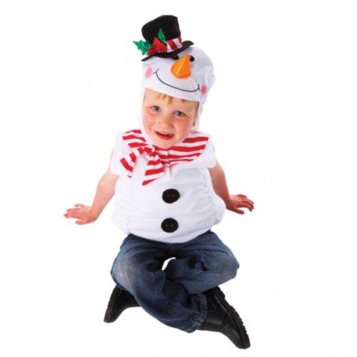 Christy`s - Disfraz de muñeco de nieve infantil, talla única (995059)