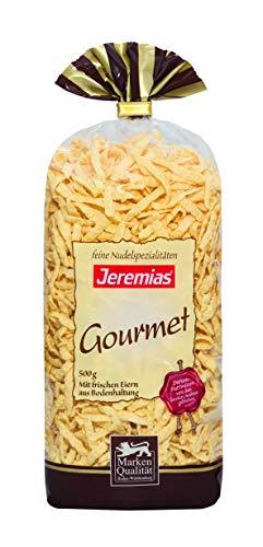 Jeremias Spätzle geschabt, Gourmet Frischei-Nudeln, 2er Pack (2 x 500 g Beutel)