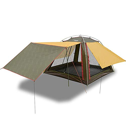 Outdoor Camping Tent Woonkamer Account Luifel Pergola 4 Mensen Familie Strand Luifel Aluminium Buitenuitrusting Zwembed