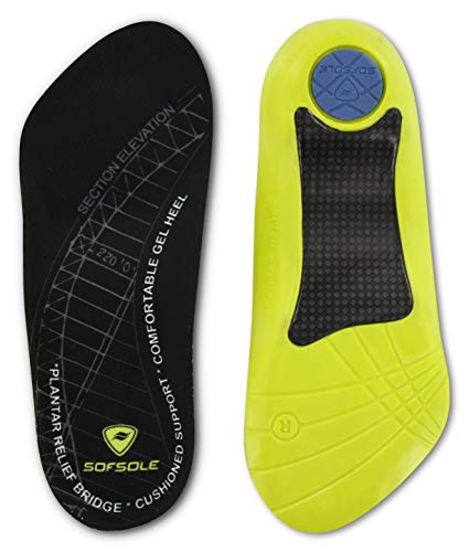 Sof Sole High Arch and Plantar Fasciitis Insoles