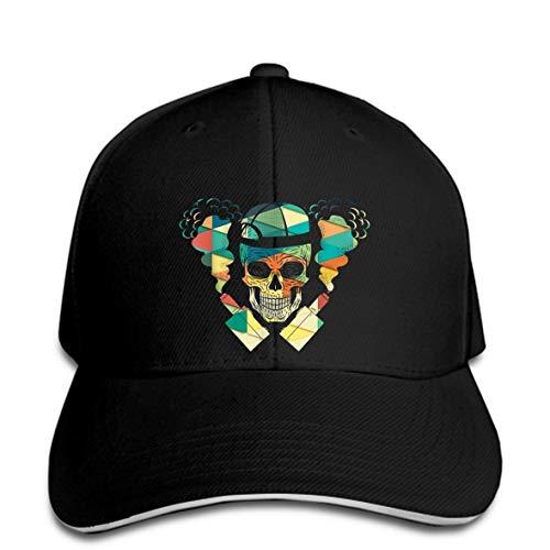 OF Baseball Cap Skull Vape Retro Vintage E-Cigars Vaping E-Cigarette Snapback Hat Peaked