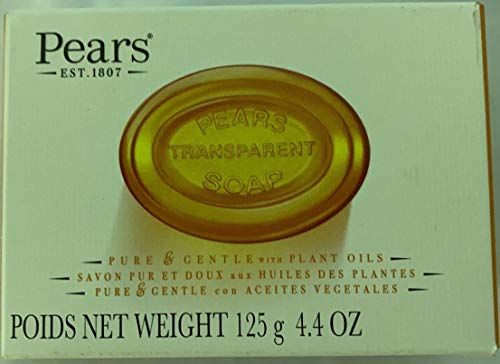 Pears Natural Glycerine Transparent Soap,...