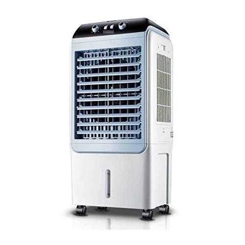 JiaHome Climatizadores EVaporativos Enfriador De Aire con Mando A Distancia,Ventilador Humidificador Evaporativo Portáti,Aire Acondicionado,Purificador De...