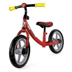 Chicco Ferrari - Bicicleta Infantil con protección antipinchazos, Marco de Metal Ultraligero, Manillar y Asiento Ajustables, 85 x 60 cm