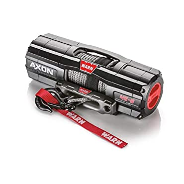 WARN 101140 AXON 45-S Powersports Winch With Spydura Synthetic Rope