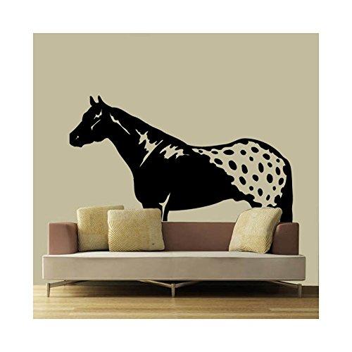 Stickers paard Appaloosa - beige, 90 cm x 76 cm