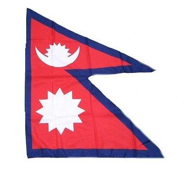 Fahne / Stockflagge Nepal 30 x 45 cm Flagge