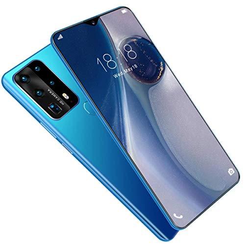 Mobiltelefon, P43pro, MTK6799, 10-Kern, 6,7-Zoll-HD + 1440 * 3040, 5G-Netzwerk, Speicher 8 GB + 512 GB Kamera 13 MP + 24 MP, Akku 4800 mAh, Android 10.0